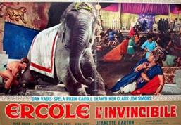 Photo: HERCULES THE INVINCIBLE  (1964)  +  THE ADVENTURES OF PRINCE AHMED  (1926)  HERCULES THE INVINCIBLE  (1964):Ercole salva Teica, la figlia del re, dalle fauci di un leone e se ne innamora perdutamente. Il padre per concederla in sposa chiede ad Ercole di uccidere un feroce Drago che terrorizza il suo popolo.  Ercole riesce nell'impresa ma quando torna per richiedere la ricompense trova la città distrutta e scopre che il re è stato ucciso da Kabaol, capo del popolo dei Demios, che ha rapito anche la sua amata.  Ercole parte per liberarla e riesce nel suo intento, vendicando anche la morte del re.Hercules saves a woman named Telca from a lion and arrives in triumph in her village. Telca's father, King Tedaeo, offers Hercules Telca's hand in marriage, if he brings back the tooth of a dragon. Hercules seeks help from a witch, who gives him a spear that will kill the dragon but wants the same tooth as her reward. As Hercules has already promised the tooth to King Tedaeo, the witch warns him that the magic of the tooth will only work once. In Hercules' absence Telca's village has been pillaged with all the survivors, save Babar, taken prisoner by the Demulus, a tribe that lives inside a mountain and eats the hearts of their prisoners.THE ADVENTURES OF PRINCE AHMED  (1926):An African magician conjures up a flying horse, which he shows to the Caliph. When the magician refuses to sell it for any amount of gold, the Caliph offers any treasure he has to get it. The magician chooses Dinarsade, the Caliph's daughter, to her great distress. Prince Achmed, Dinarsade's brother, objects, but the magician persuades him to try out the horse. It carries the prince away, higher and higher into the sky, as he does not know how to control it. The Caliph has the magician imprisoned.  When Achmed discovers how to make the horse descend, he finds himself in a strange foreign land. He is greeted by a bevy of attractive women. When they begin fighting for his attention, he flies away to a lake. There, he watches as Peri Banu, the beautiful ruler of the land of Wak Wak, arrives with her attendants to bathe. When they spot him, they all fly away, except for Peri Banu, for Achmed has her magical flying feather costume